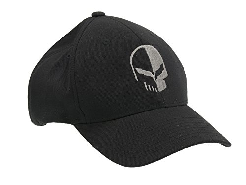 Corvette Racing Jake Flex Fit Black Hat S/M
