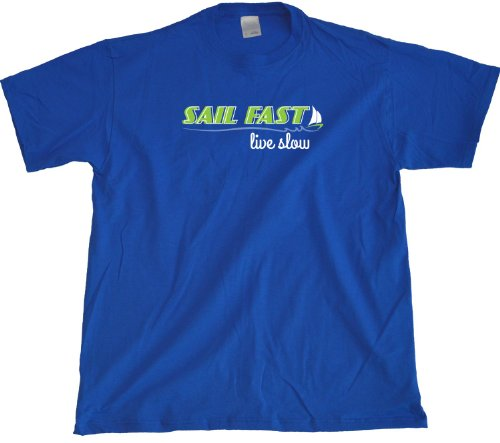 Ann Arbor T-Shirt Co. Men's Sail Fast, Live Slow T-Shirt