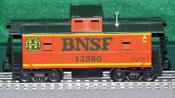 Amazon com: Ready Made Trains RMTCAB281 Caboose Burlington Northern