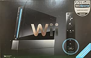 Nintendo Wii Console Black with Wii Sports