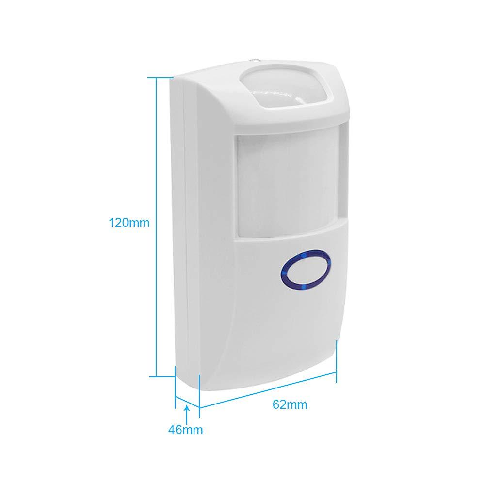 Docooler Sonoff PIR2 Sensor PIR autom/ático Dual IR Sensor RF 433Mhz Smart Sistema de Alarma de Seguridad de automatizaci/ón del hogar para Alexa Google Home