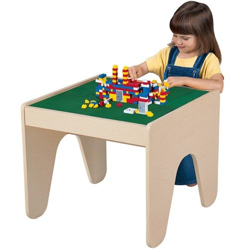 Table for Standard Sized Building Bricks