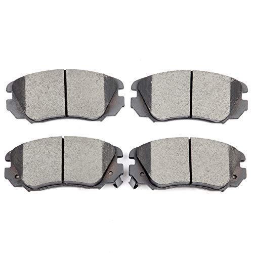 Brake Pads,ECCPP 4pcs Front Ceramic Disc Brake Pads Kits fit for 2010 Buick Allure,2010-2016 Buick LaCrosse/Chevy Equinox/GMC Terrain,2011-2015 Buick Regal,2013-2015 Chevy Malibu,2011 Saab 9-5 ()