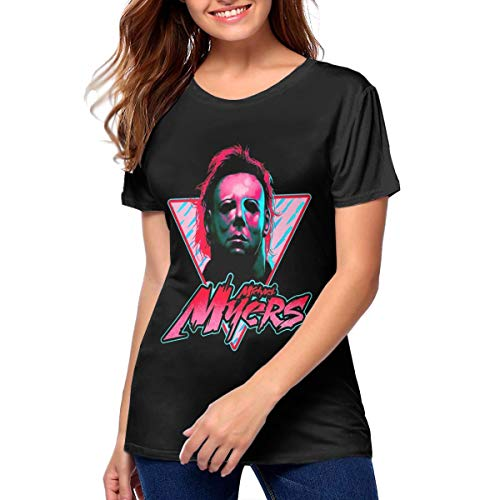 Woman Michael Myers T Shirt Tennis Tee Shirt XXL Gift -