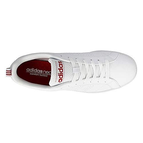 White Bb9653 Uomo Footwear scarlet footwear Clean Advantage Sneaker adidas Vs White YCHTqnw
