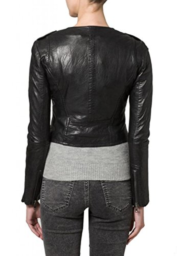 Giacca Giacca Junction Leather Nero Leather Nero Junction Donna Nero Junction Leather Donna Donna Giacca dIwpdqP