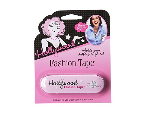 (Hollywood Fashion Secrets Medical Quality Double-Stick Apparel Tape, 36 strips Tin)