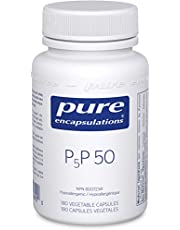 Pure Encapsulations - P5P 50 - Supports Energy Metabolism, Tissue and Red Blood Cells Formation - 180 Vegetable Capsules