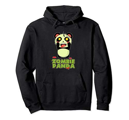 Zombie Panda Halloween Pullover -