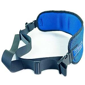RANRANHOME Silla de Ruedas Cinturones de Seguridad Correas de los Pacientes Cares arnés Silla Cintura cinturón de Regazo para Ancianos: Amazon.es: Hogar