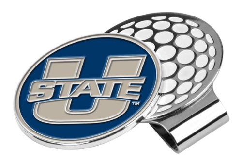 LinksWalker NCAA Utah State Aggies Golf Hat Clip with Ball - State Golf Utah Aggies