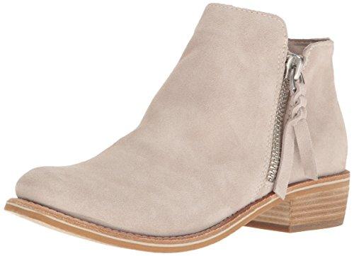 Dolce Vita Women's Sutton-Blush Ankle Bootie Light Grey Suede