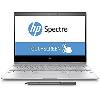 Image of 2017 HP Spectre x360 13 - 13.3' FHD Touch - 8gen i7-8550U - 8GB - 256GB SSD - Pen - Silver 2 in 1 Laptops