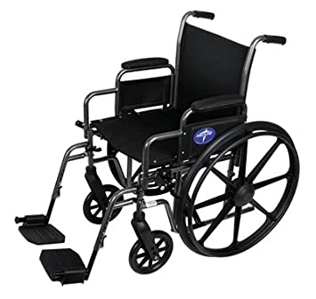 Amazon.com: Medline mds806250nee Excel K1 Basic silla de ...