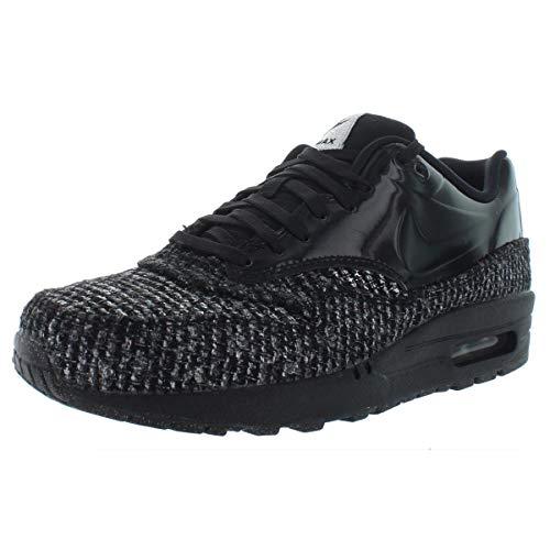 Nike Womens Air Max 1 VT QS Fashion Low Top Sneakers Black 8.5 Medium (B,M)