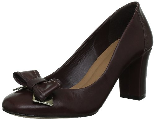 Via Uno 11275503, Damen Pumps Braun (Chocolate)