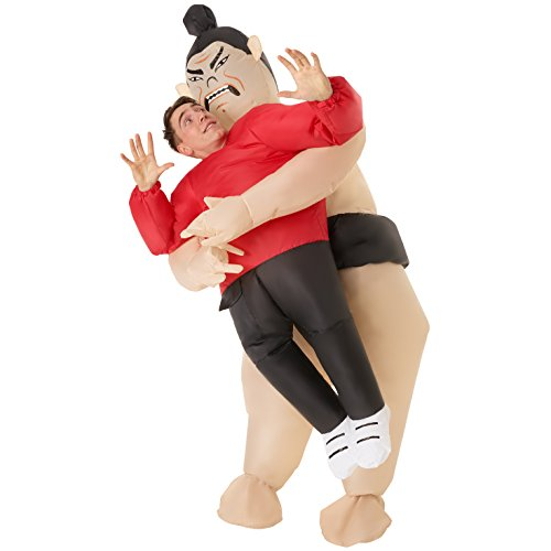 Morph Mens Sumo Wrestler Pick Me Up Inflatable