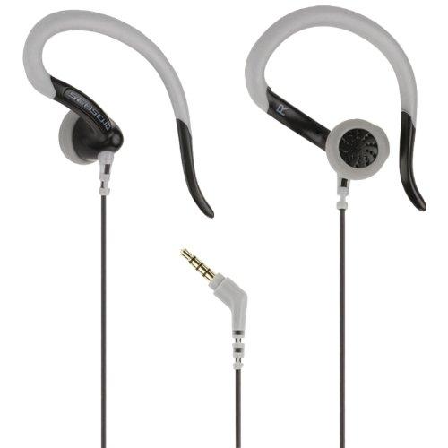 (Scosche SportCLIPS II - Sport Clip Earbuds, Black (HPSC60BK))
