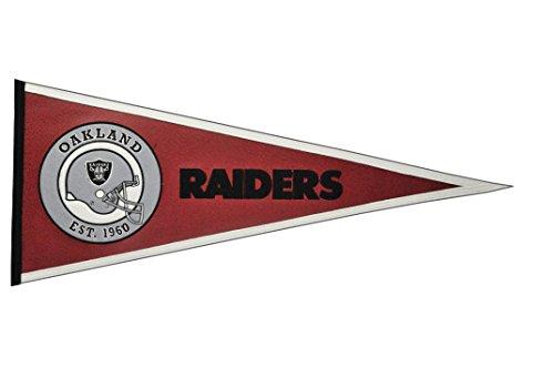 Winning Streak NFL Oakland Raiders Pigskin Pennant ()