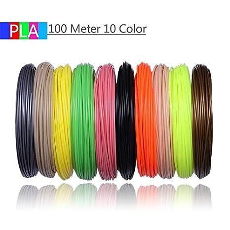Shi-y-m-3d, Filamentos de Impresora 3D 200 Metros 20 Colores ...