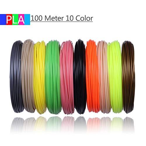 FAN-MING-N-3D, filamentos de Impresora 3D, 200 Metros, 20 Colores ...