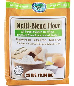 Authentic Foods Multi Blend Gluten Free Flour - 25 Lb Bulk Bag by Authentic Foods