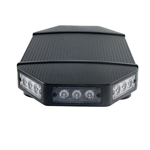 best gppower 18 39 39 inch amber low profile magnetic roof. Black Bedroom Furniture Sets. Home Design Ideas
