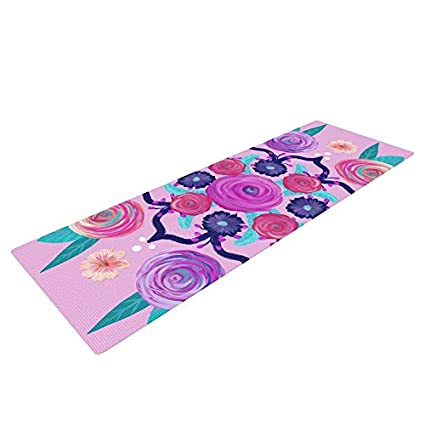 Amazon.com : KESS InHouse Anneline Sophia Expressive Blooms ...