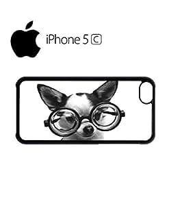 Doggie Geek Nerd Cute Mobile Cell Phone Case Cover iPhone 5c Black