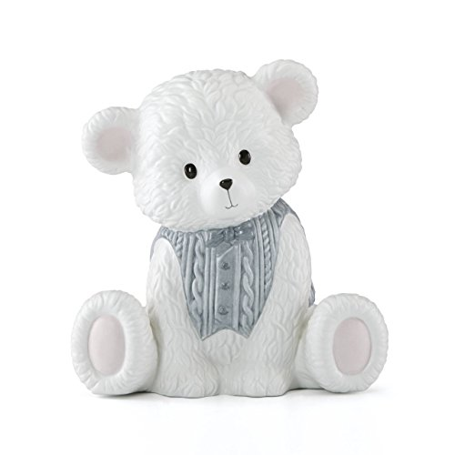 Lenox Baby Bear Boy Bank -