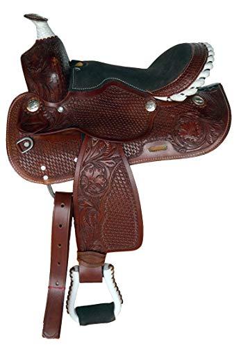 Pony Suede Saddle - Equitem 10