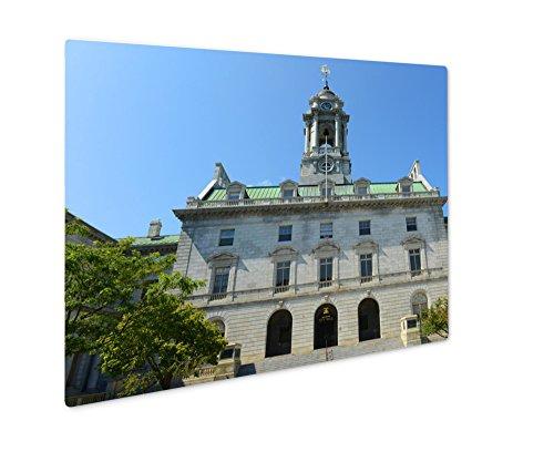 Ashley Giclee Metal Panel Print, Portland City Hall Maine Usa, (Portland City Hall)