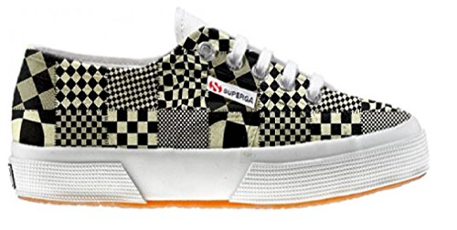 Superga Customized Chaussures Coutume Pachtwork Texture (produit artisanal)