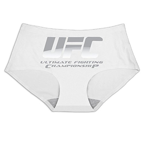 Holly Mid Lace - MeiSXue Women's UFC Ultimate Fighting Championship Logo Ice Silk Briefs