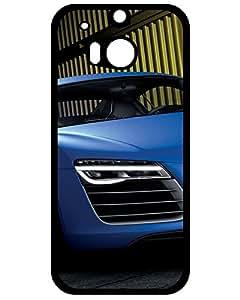 MMA Sports Case's Shop 2401102ZH539257502M8 Ultra Slim Fit Hard Case Cover 2013 Audi R8 V10 Plus Htc One M8 phone Case