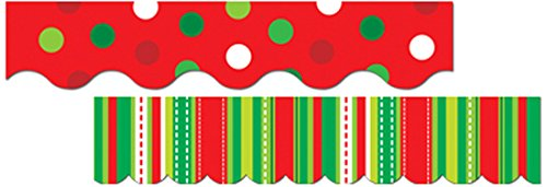 Creative Teaching Press Holiday Cheer Perfect Pairs Border Set (6590) Border Trim Set