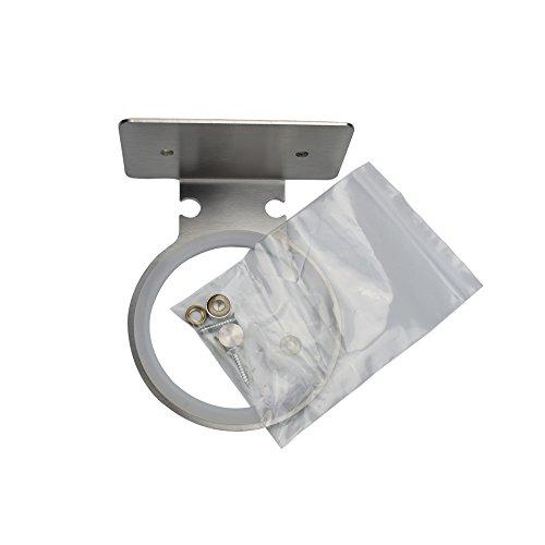 Genesis Dryer (HGHMLIFE Hairdryer Holder Stainless Steel Wall Mounted Hair Dryer Storage,Self-adhesive or Drilling)