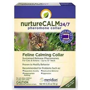 "NurtureCALM 24/7 Feline Calming Pheromone Collar (Upto 15"" Neck) 11"