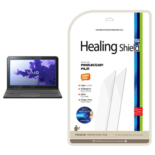 Healingshield AB Anti-Blue Eye protection functional LCD screen protector for Sony Vaio SVE 11