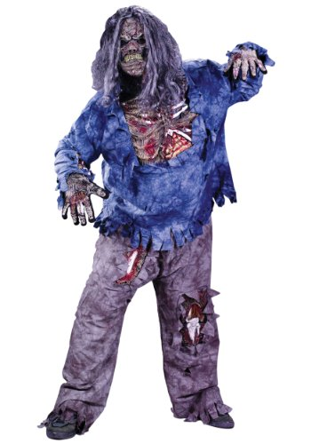 Zombie Costume Plus Size -