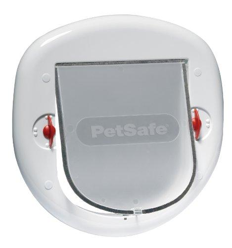 Rosewood 14561 PetSafe Staywell Katzenklappe für große Katzen, weiß - Serie 200