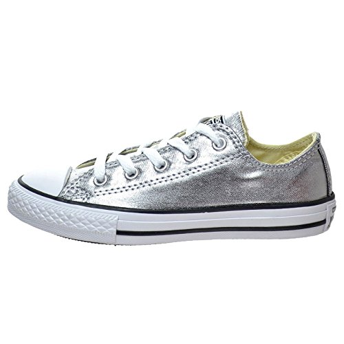 Converse ALL STAR taglia 4 UK da donna in pelle lavabile di alta qualit ginnastica