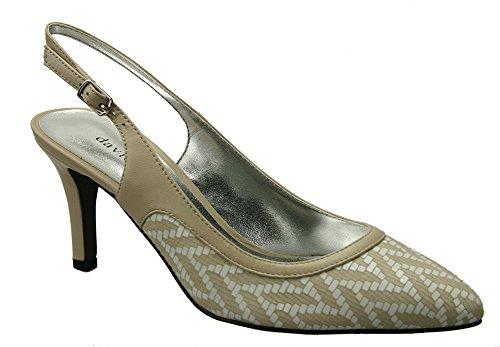 David Tate Bella Chaussures Pour Femmes, Camel Tressé, Taille - 7n
