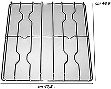 GRIGLIA CUCINA GAS ADATTA A SMEG WESTINGHOUS CM  47,8 x 44,8 CROMATA INOX F 5307