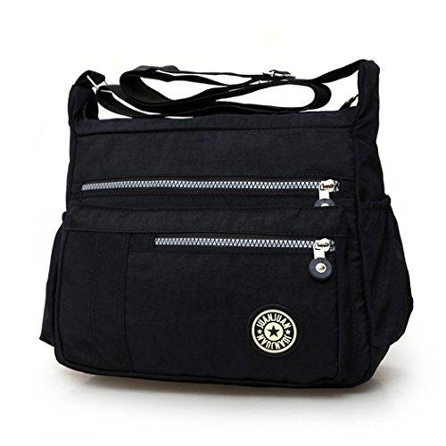 Cross black Messenger MIOIM Shoulder Bag Black Body Ladies Bag Tote Handbag Women Zqw7A