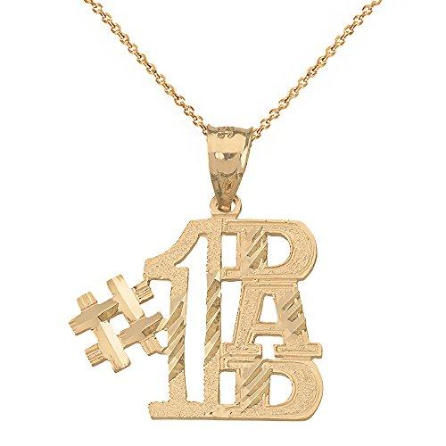 Charm #1 Dad Pendant Necklace (20