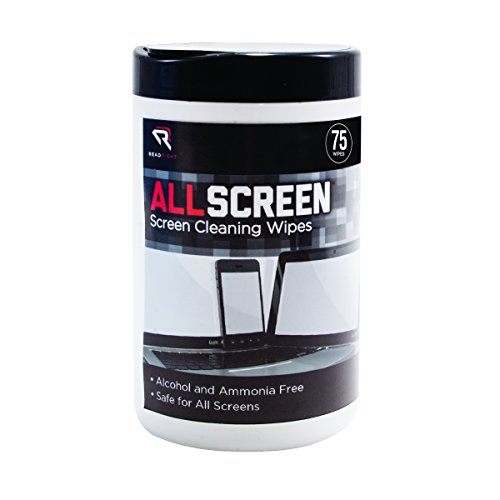 Read Right Screen Cleaning Wipes, 75 Wipes per Pop-Up Tub (RR15045) by Read Right