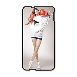 HTC One M7 Phone Case Black girl asian boxing SEW5338678