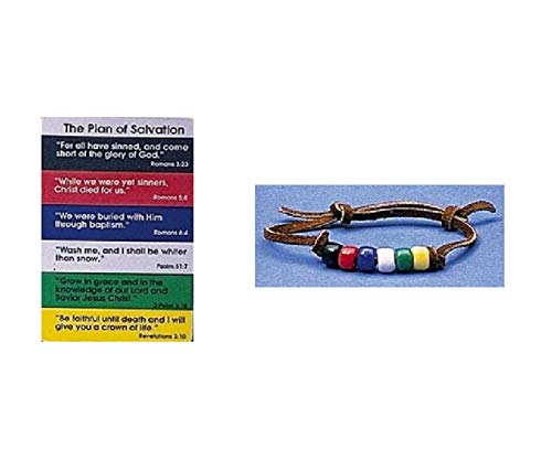 - Plan of Salvation Pocketcard With Beaded Bracelet, 1 Count