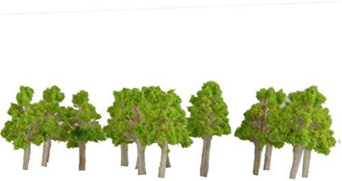 鉄道模型 木 樹木 モデルツリー 模型用樹木 1:100 ミニチュア風景 装飾 砂テーブル装飾 約100本